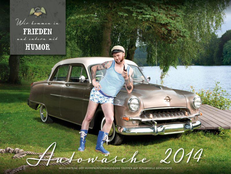 Autowaesche Kalender 2014 Cover